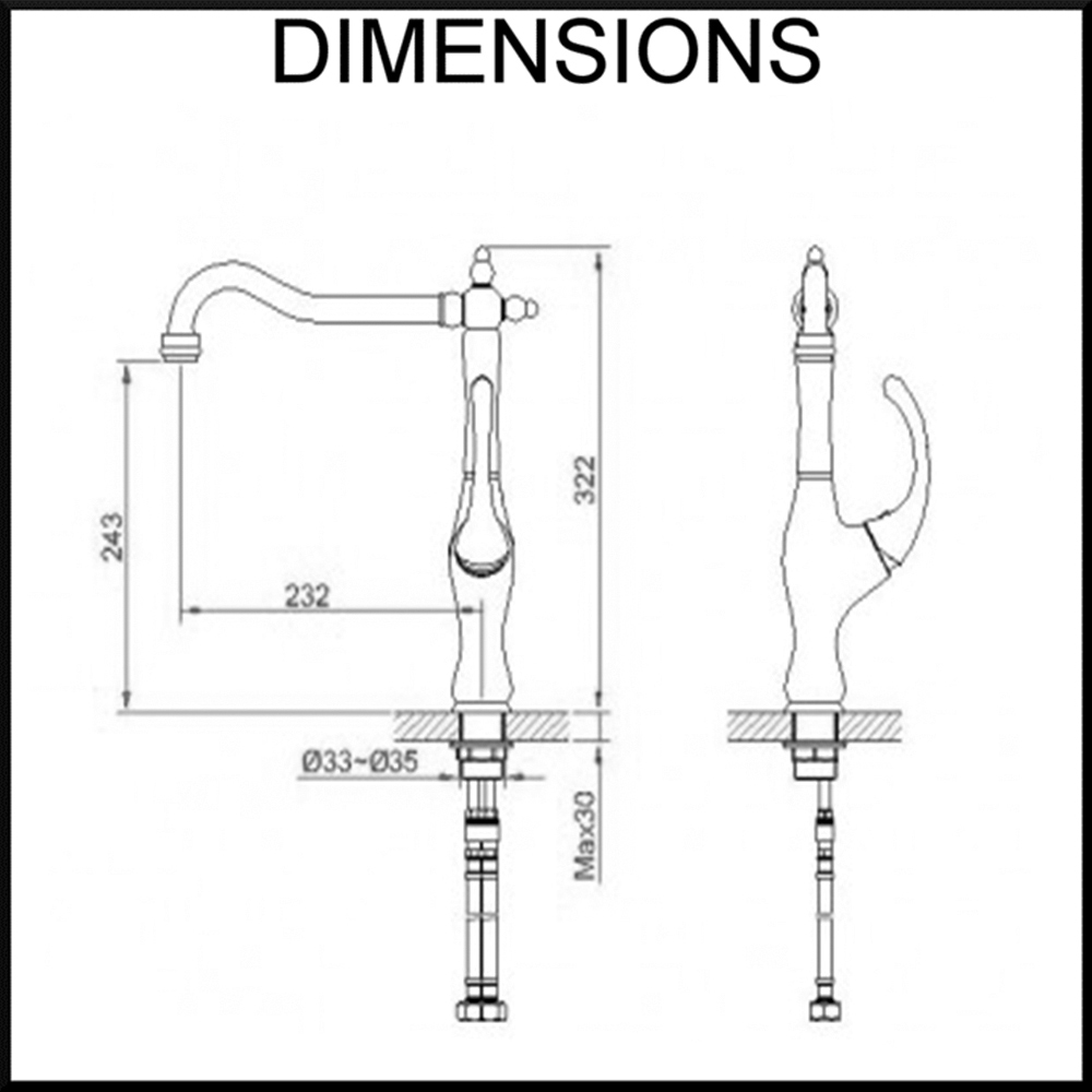 fluid-kitchen-mixer-dimensions