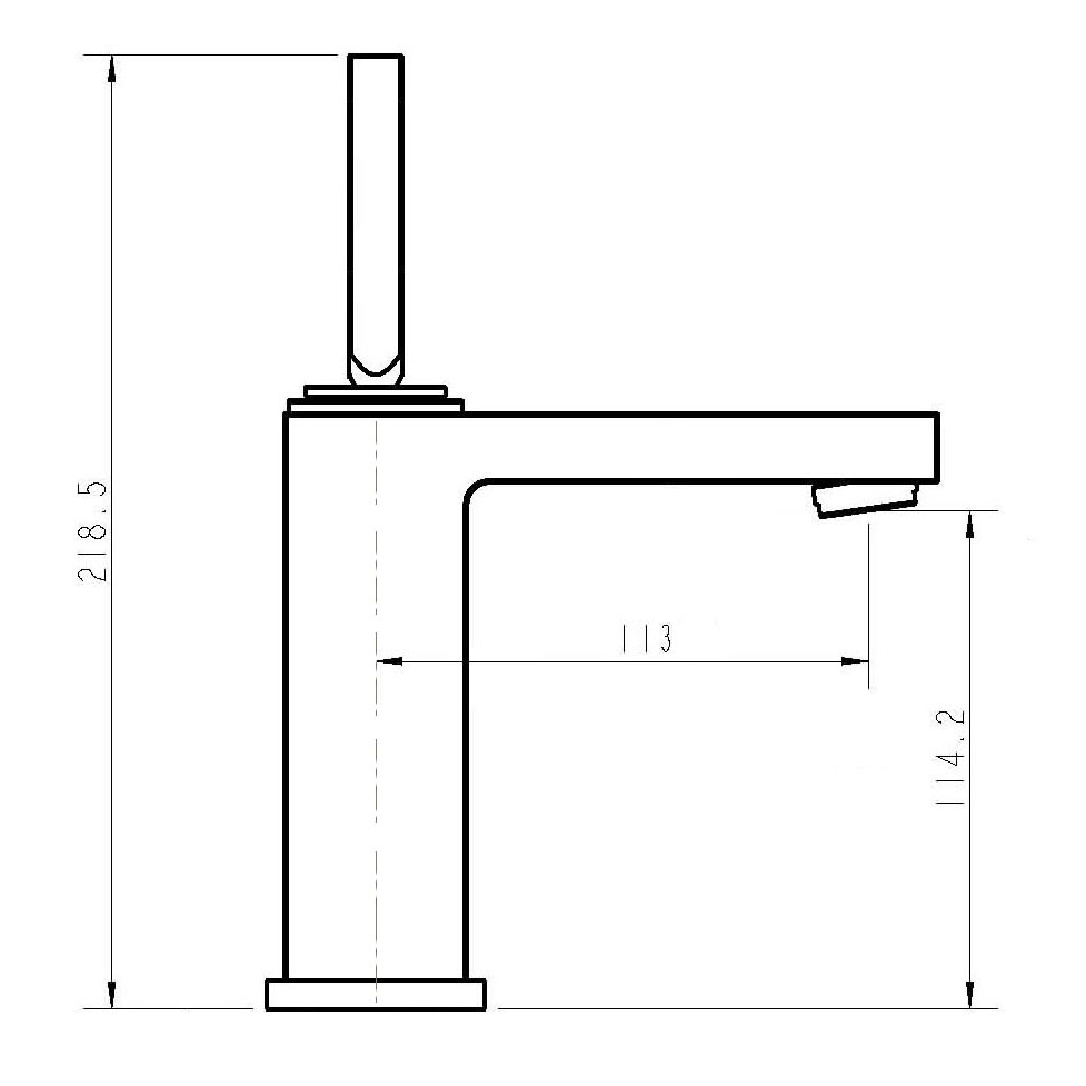 piero basin mixer bathroom della dimensions