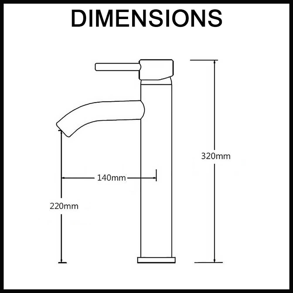 black bathroom sink taps