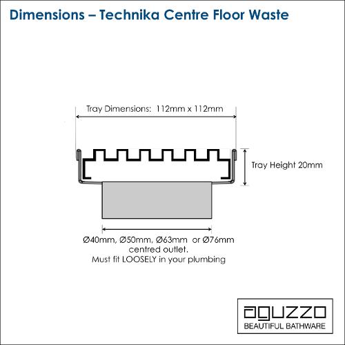 technika-centre-floor-waste-shower