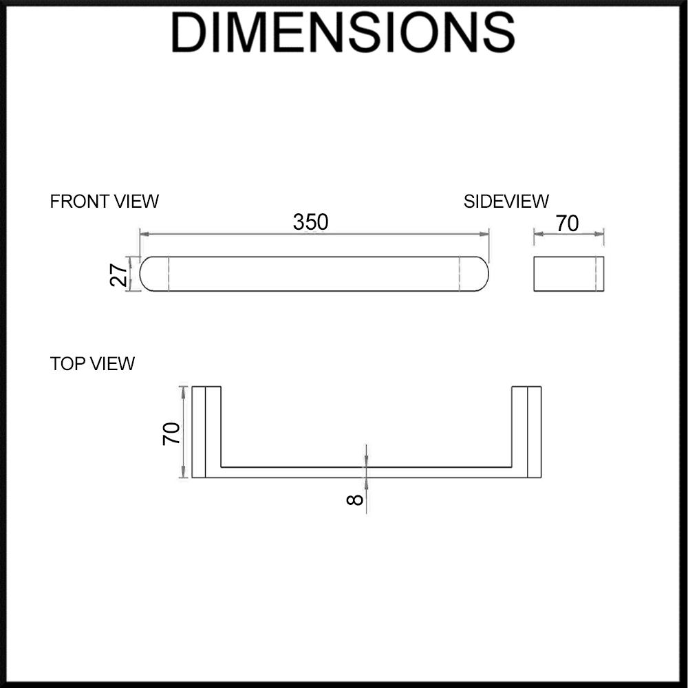 fluid-hand-towel-holder-dimensions