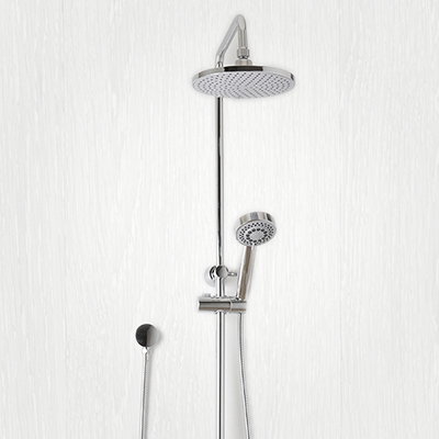 shower sets with shower head, shower arm, shower rail, hand held shower heads, rain shower head, shower taps, shower rail