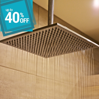 up to 40% off on shower head and shower arm bathroom ideas