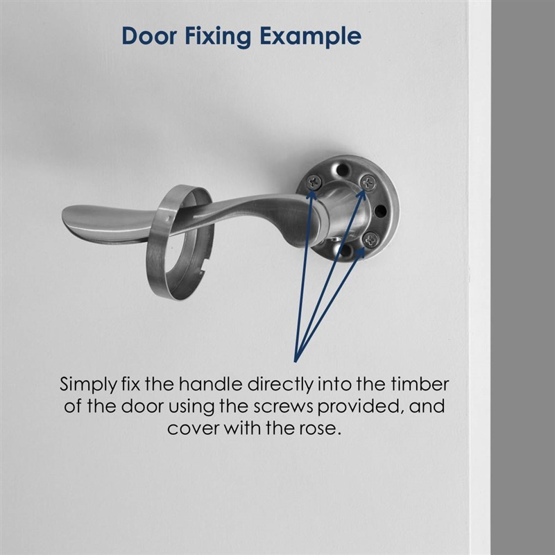 Royce Dummy Door lever handle set