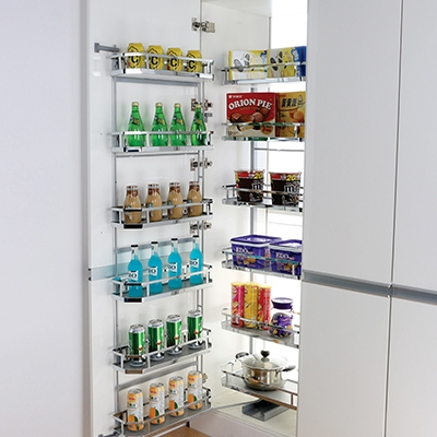 wall mounted shelves for kitchen pantry