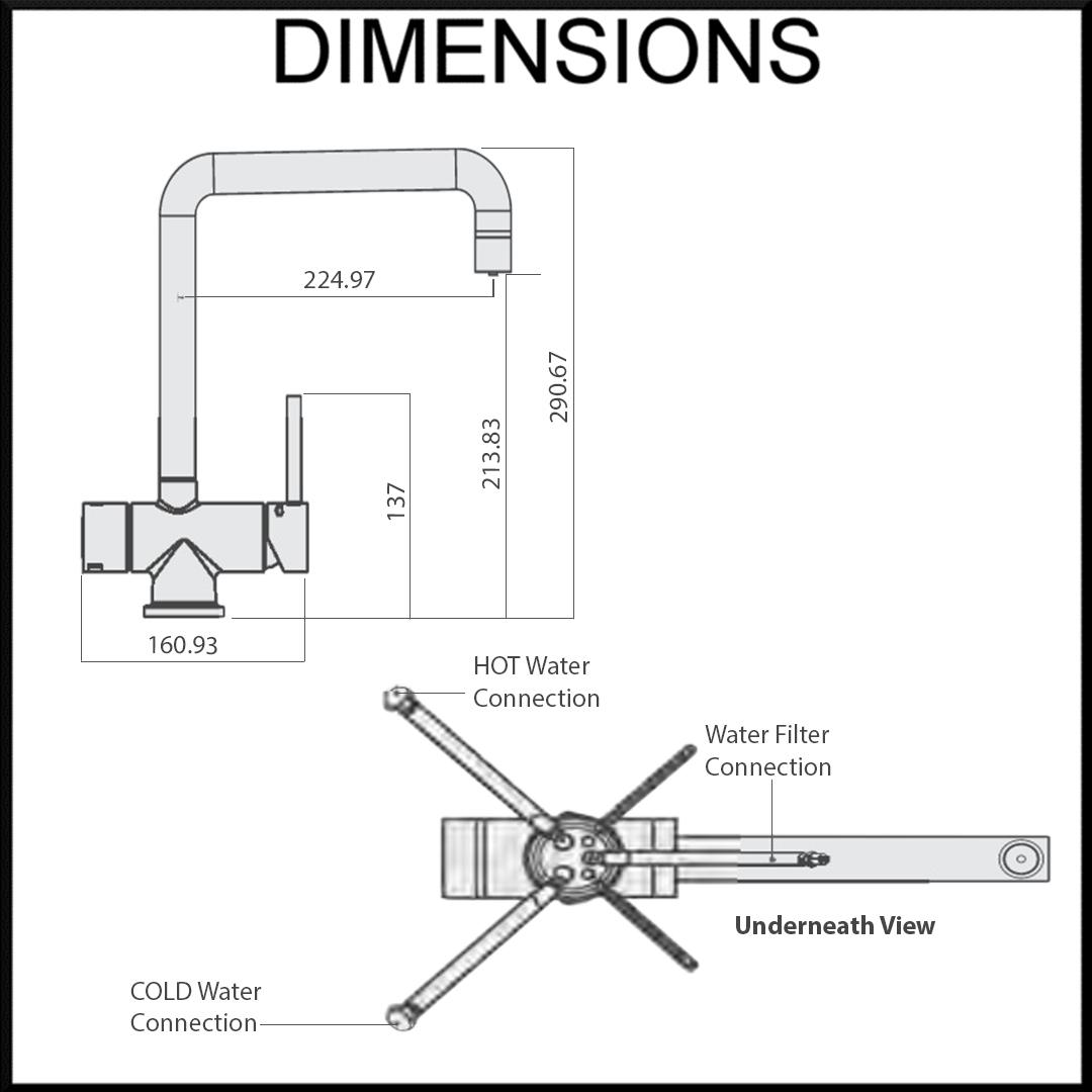 Tripla T5 Dimensions
