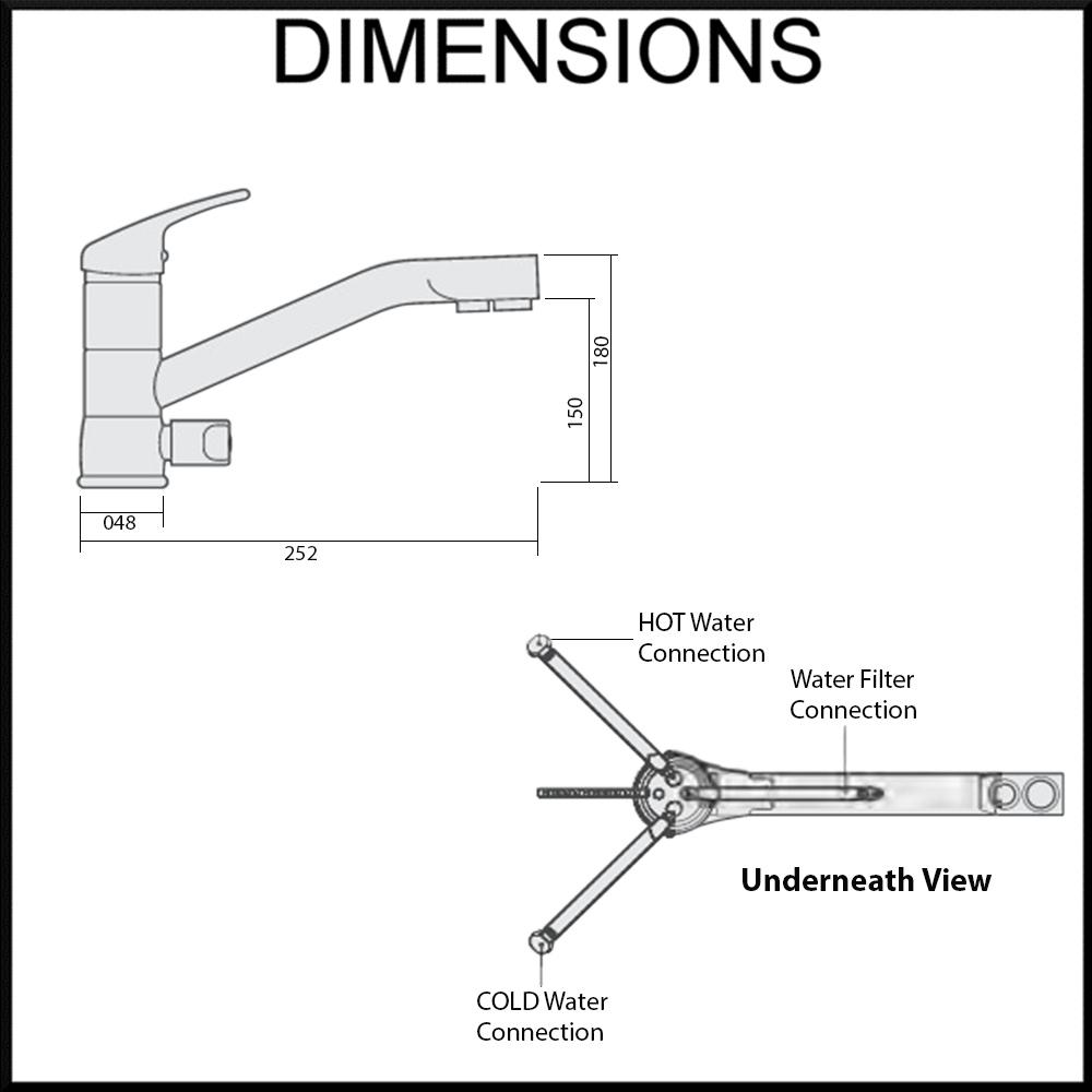 Tripla T1 Dimensions