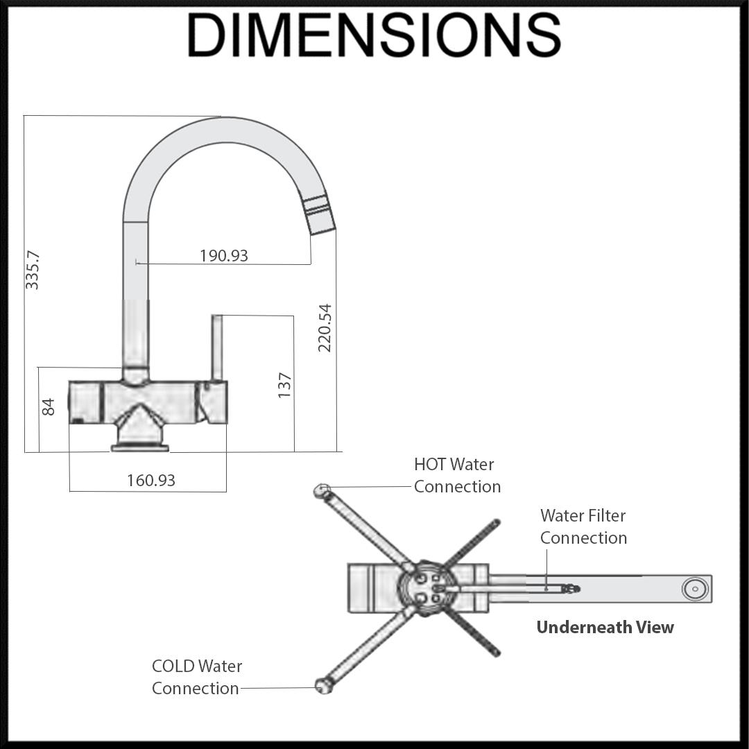 Tripla T4 Dimensions