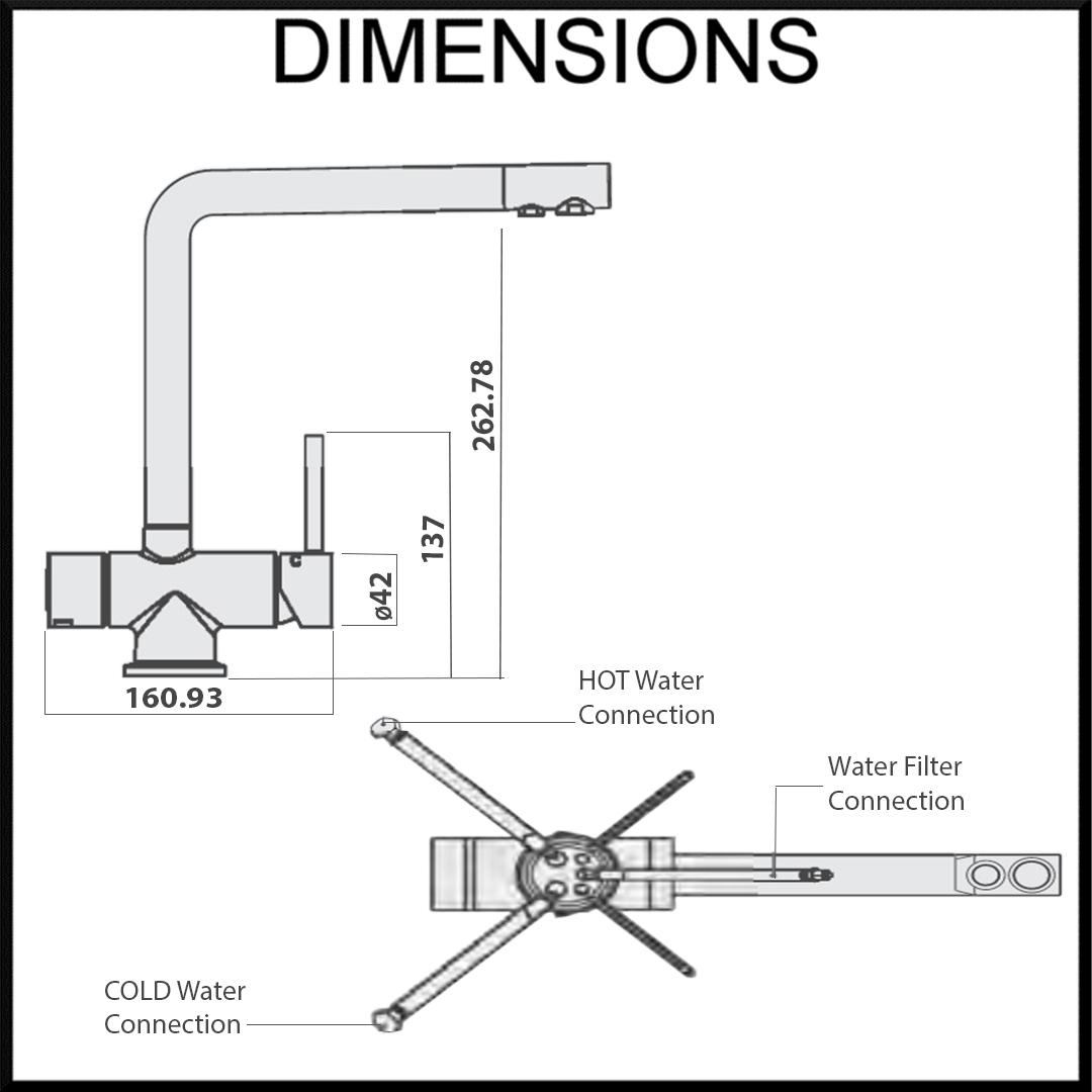 Tripla T6 Dimensions
