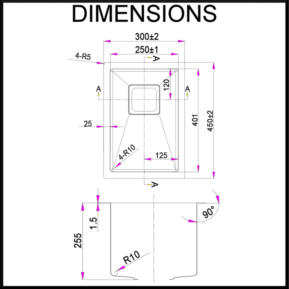 swedia-half-bowl-kitchen-sink-dimensions