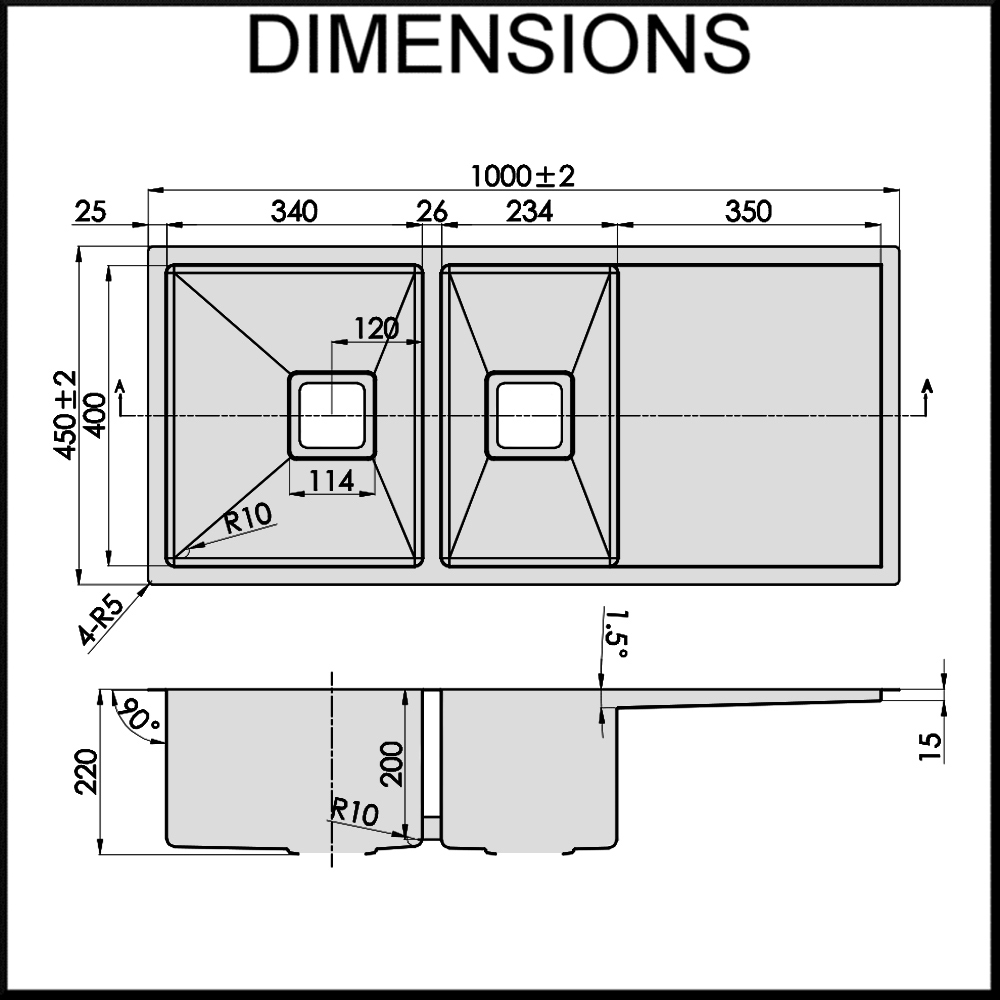 Standard Farm Sink Dimensions : Sinks Stainless Steel besides Stainless Steel Kitchen Sink Dimensions ...