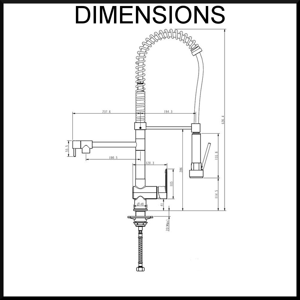 vale-grande-kitchen-mixer-dimensions