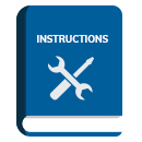 instruction manual blue