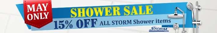 Shower Sale - 15% OFF All Storm Shower