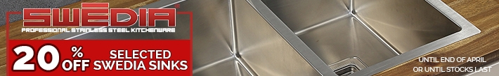 20% OFF Swedia Stainless Steel Sink