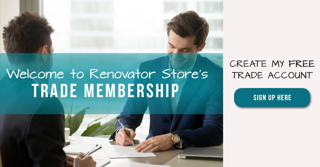 Welcome to Renovator Store's Trade Membership