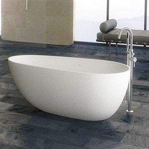bathtub and bath ware