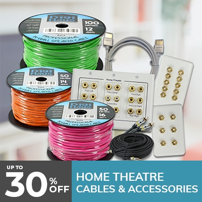 speaker cables, home theatre accessories, cables