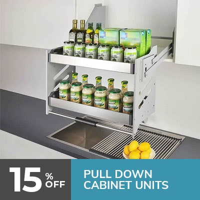 pull-down cabinets units