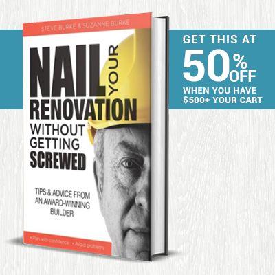 Renovation Book On Sale