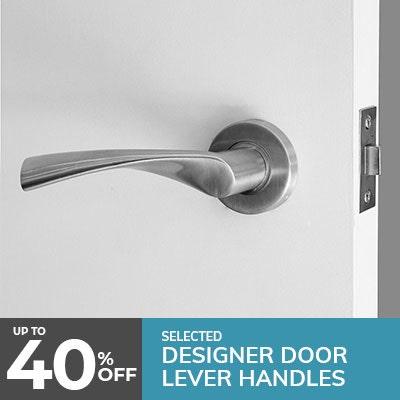 door handle, lever style door handle