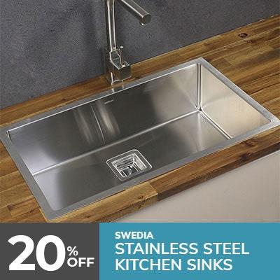 kitchen sink, stainless steel sinks
