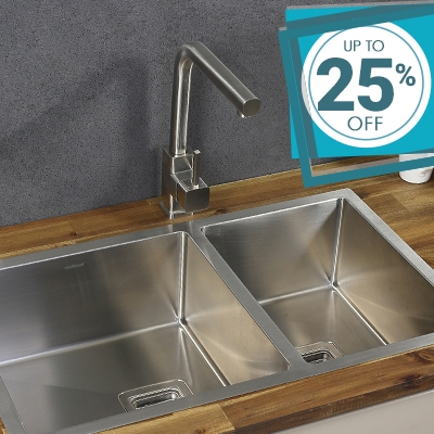 Stainless Steel Kitchen Sinks on Sale