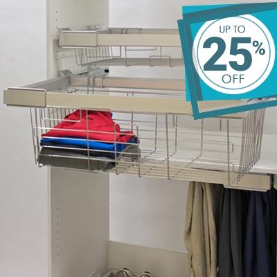 Wardrobe Storage Solutions on Sale