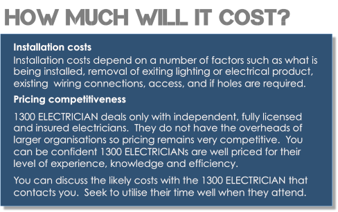 how much does an electrician cost