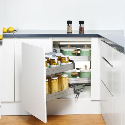 interior designers - kitchen storage solutions make like easier