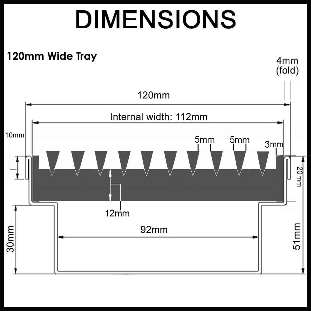 heavy duty outdoor drainage channel wedge wire cover