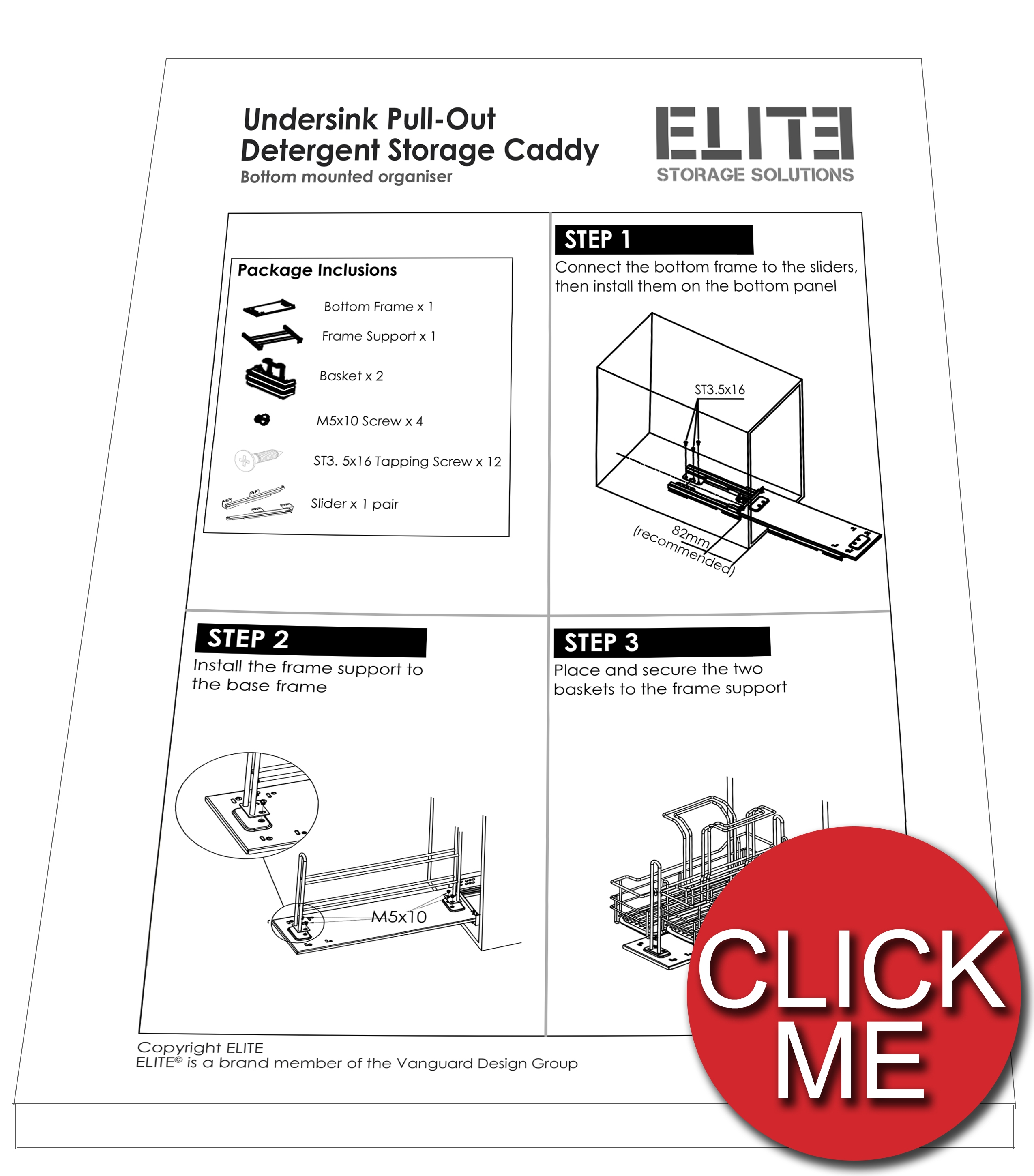 Elite-undersink-installation-manual