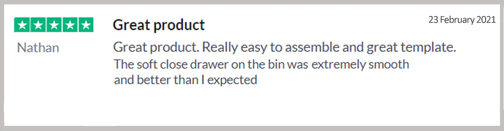 32L double concealed waste bin online purchase review