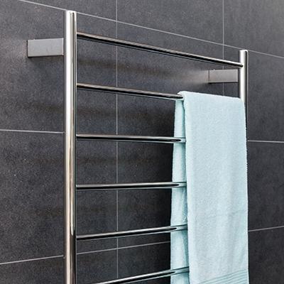 towel rack, heated towel rail, and black towel rail ideas for bathrooms