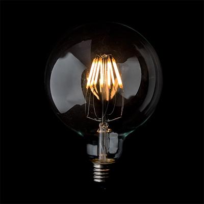 LED light - vintage lighting, retro lighting