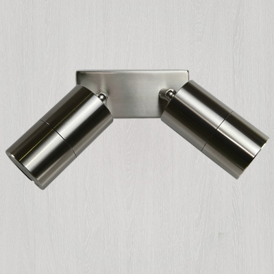 Wall Lights - LED, stair lights - round or square, single or double spot light