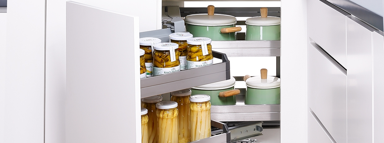 kitchen storage, dish rack, wall storage, waste bin, and pantry storage solutions for kitchens