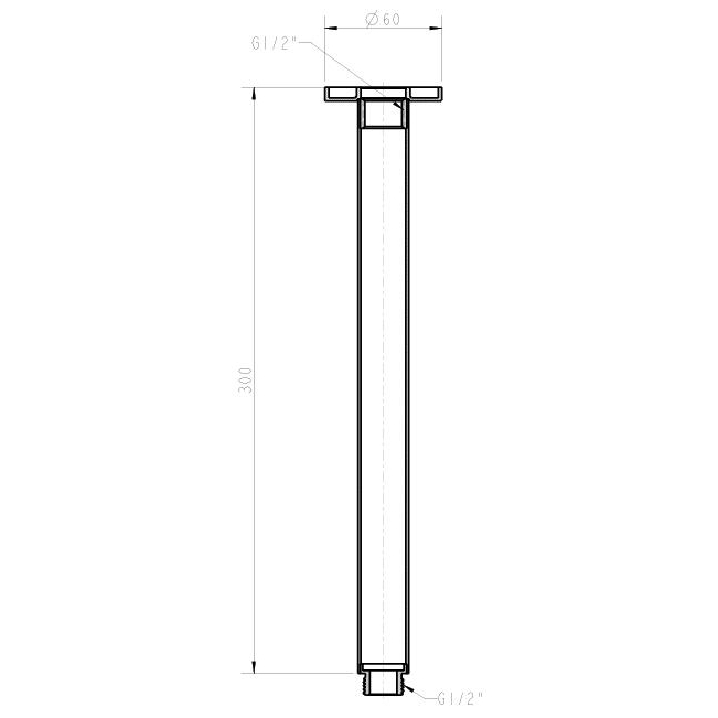 round shower arm ceiling mount dimensions 657x657