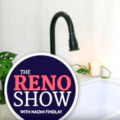 the reno show - naomi findlay uses mixer tap from renovator store
