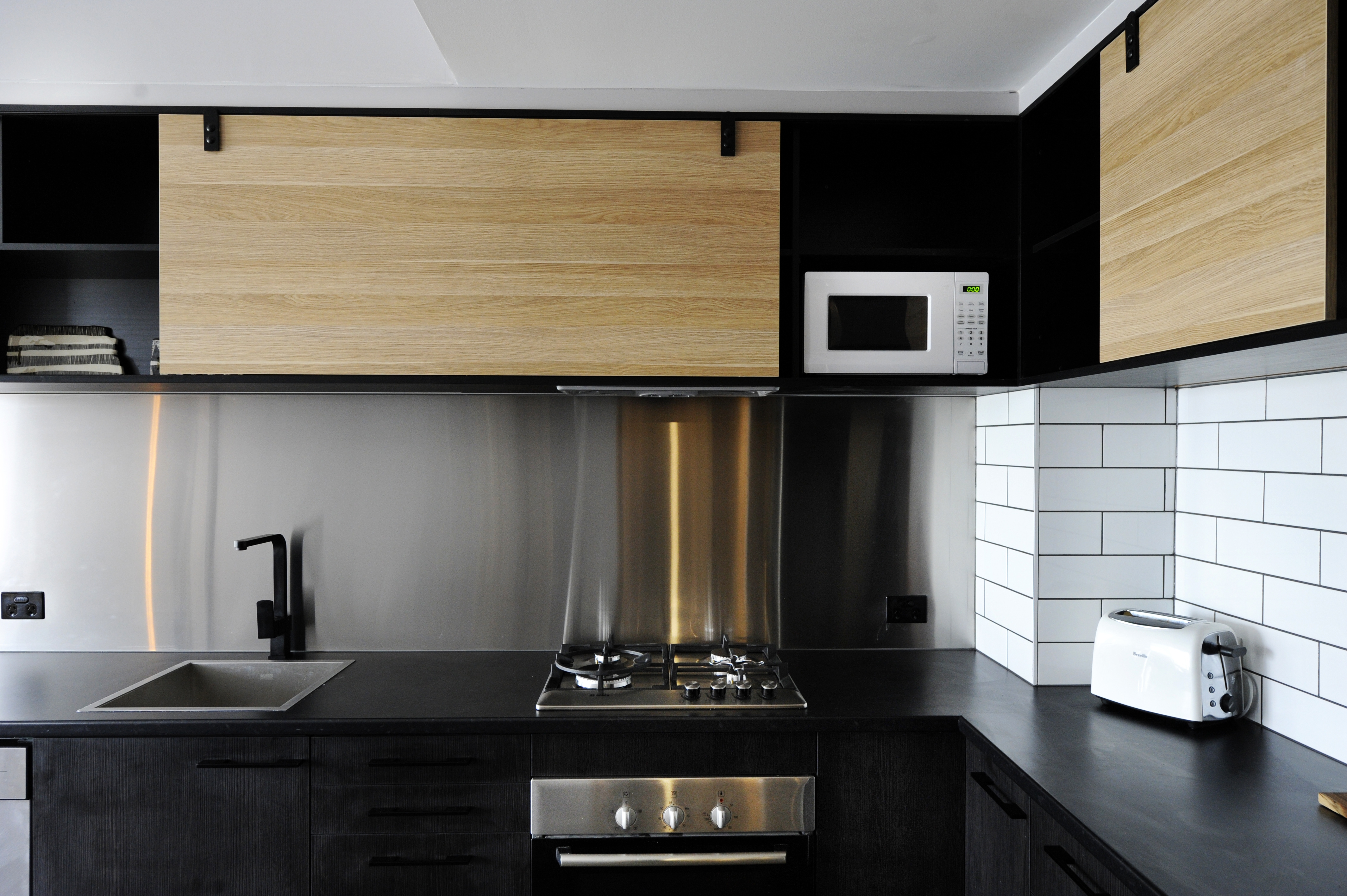industrial kitchen design on deadline design by shaynna blaze